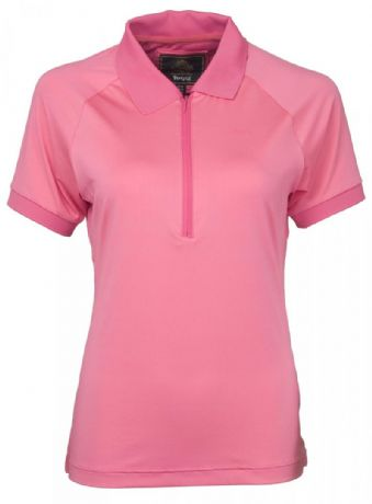 TOGGI  MAKAYLA TECHNICAL POLO SHIRT - PINK  - RRP £35.00